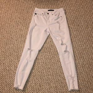 KanCan distressed ankle skinny jeans